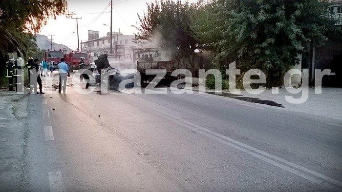 Θανατηφόρο τροχαίο στη Ζάκυνθο - Απανθρακώθηκε 26χρονος