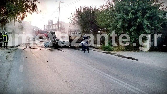 Θανατηφόρο τροχαίο στη Ζάκυνθο - Απανθρακώθηκε 26χρονος - εικόνα 2