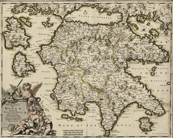Χάρτης του Μοριά