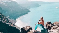 Η blogger από τη Γερμανία που λατρεύει Ζάκυνθο και Σαντορίνη (ΦΩΤΟ)
