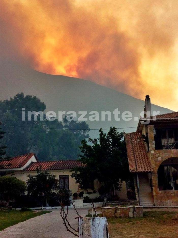 Μάχη με τις φλόγες σε όλη τη χώρα - Όλα τα μέτωπα - εικόνα 2