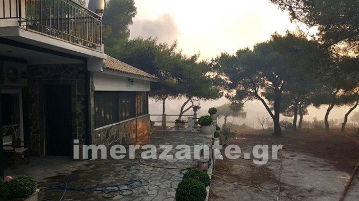 Ζάκυνθος: Σε πύρινο κλοιό-Τρίτη ημέρα μάχης με τις φλόγες
