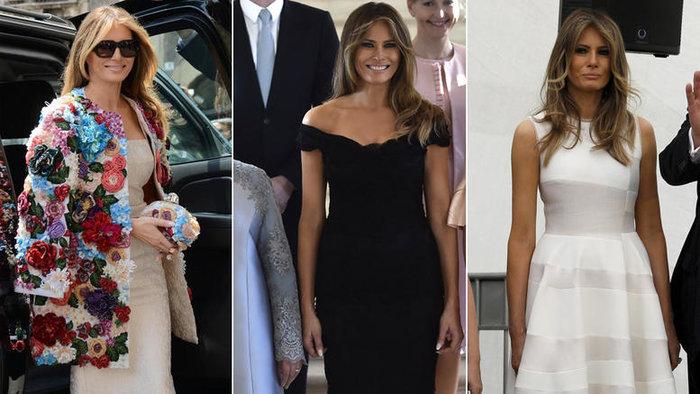 Περισσότερο από τη Vogue, η Μελάνια διαμορφώνει τη μόδα στον πλανήτη