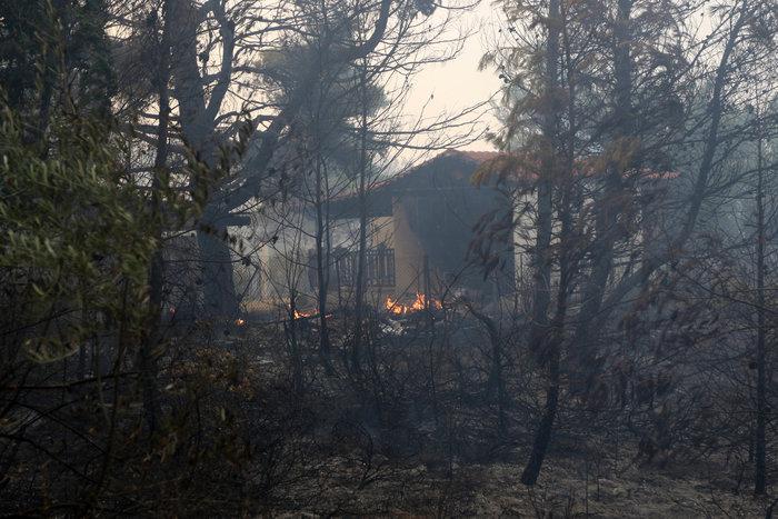 Εκτός ελέγχου η φωτιά σε Κάλαμο - Βαρνάβα: Απειλούνται σπίτια - εικόνα 10