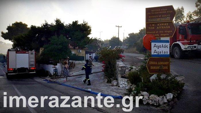 Πύρινη κόλαση για 4η ημέρα στη Ζάκυνθο- φωτιά και στην Κεφαλονιά - εικόνα 2