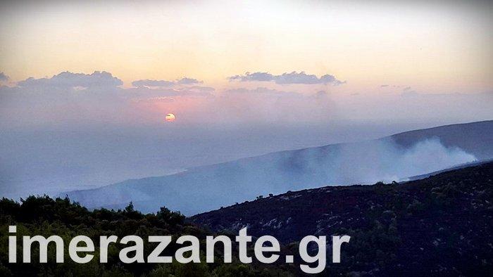 Πύρινη κόλαση για 4η ημέρα στη Ζάκυνθο- φωτιά και στην Κεφαλονιά - εικόνα 3
