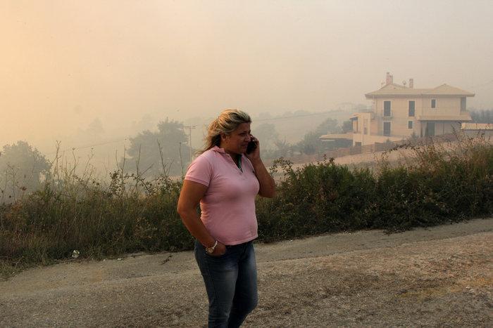 Μάχη με φλόγες και αναζωπυρώσεις από Βαρνάβα μέχρι Καπανδρίτι - εικόνα 4