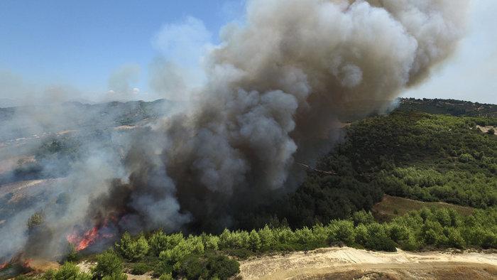Τέσσερα τα μέτωπα της φωτιάς αυτή τη στιγμή στην Ηλεία - εικόνα 2