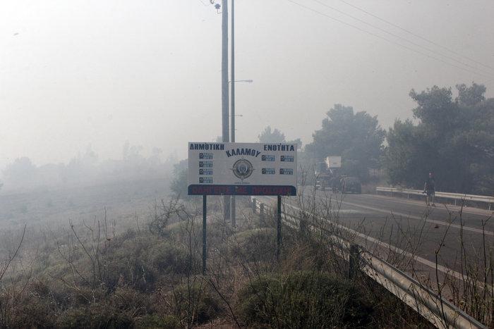 Έντονη ανησυχία από τις συνεχείς αναζωπυρώσεις στο Καπανδρίτι - εικόνα 3