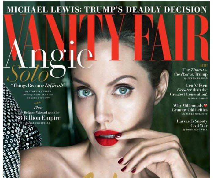 H Αντζελίνα Τζολί εκθαμβωτική στα 42 της για το Vanity Fair