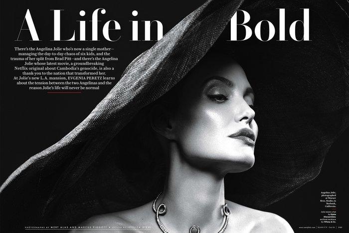 H Αντζελίνα Τζολί εκθαμβωτική στα 42 της για το Vanity Fair - εικόνα 4