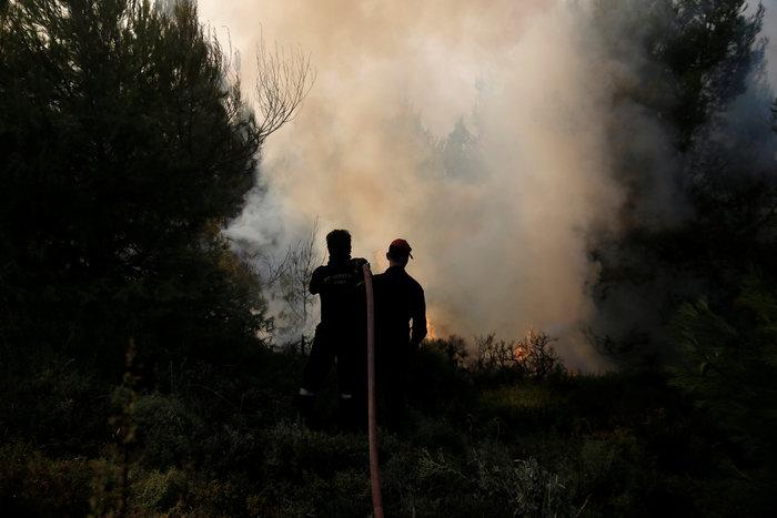 Υπό το φόβο των αναζωπυρώσεων για 4η ημέρα η ανατολική Αττική - εικόνα 4