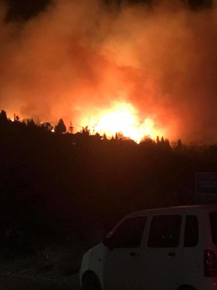 Μεγάλη πυρκαγιά σε δασική έκταση στα Σωματάτα Κεφαλονιάς -φωτό & βίντεο - εικόνα 3