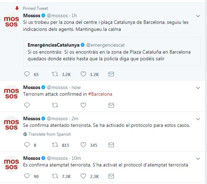 Βαρκελώνη: Σε εξέλιξη ομηρία σε μπαρ μετά την επίθεση - εικόνα 3