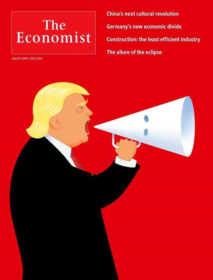 Ο Economist «τσακίζει» το ακροδεξιό προφίλ του Τραμπ