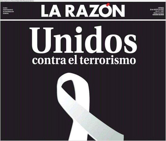 Το μακελειό στην Καταλονία μέσα από τα διεθνή πρωτοσέλιδα - εικόνα 2