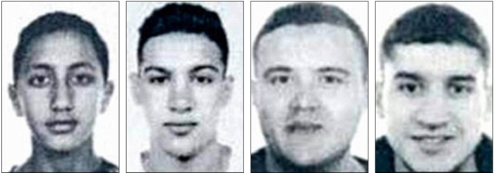 Βαρκελώνη: Αυτού είναι οι 4 ύποπτοι που αναζητά η αστυνομία