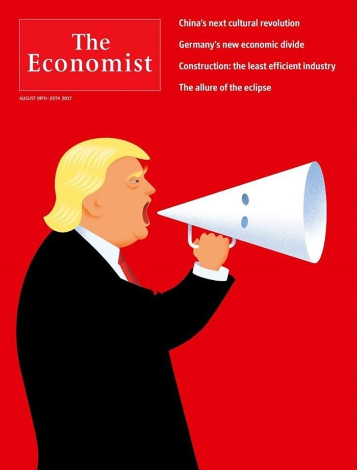 Ο Τραμπ με κουκούλα των ΚΚΚ και στο εξώφυλλο του Der Spiegel - εικόνα 2