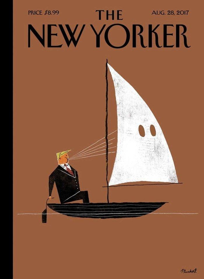 Ο Τραμπ με κουκούλα των ΚΚΚ και στο εξώφυλλο του Der Spiegel - εικόνα 3