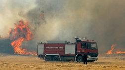Πυρκαγιές σε Μενίδι, Μαρκόπουλο και Κυπαρισσία - Δεν απειλούνται σπίτια