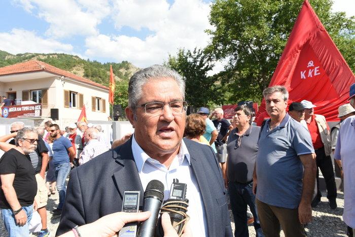 Κόνιτσα: Ο Κουτσούμπας εγκαινίασε το Μουσείο του Δημοκρατικού Στρατού - εικόνα 2