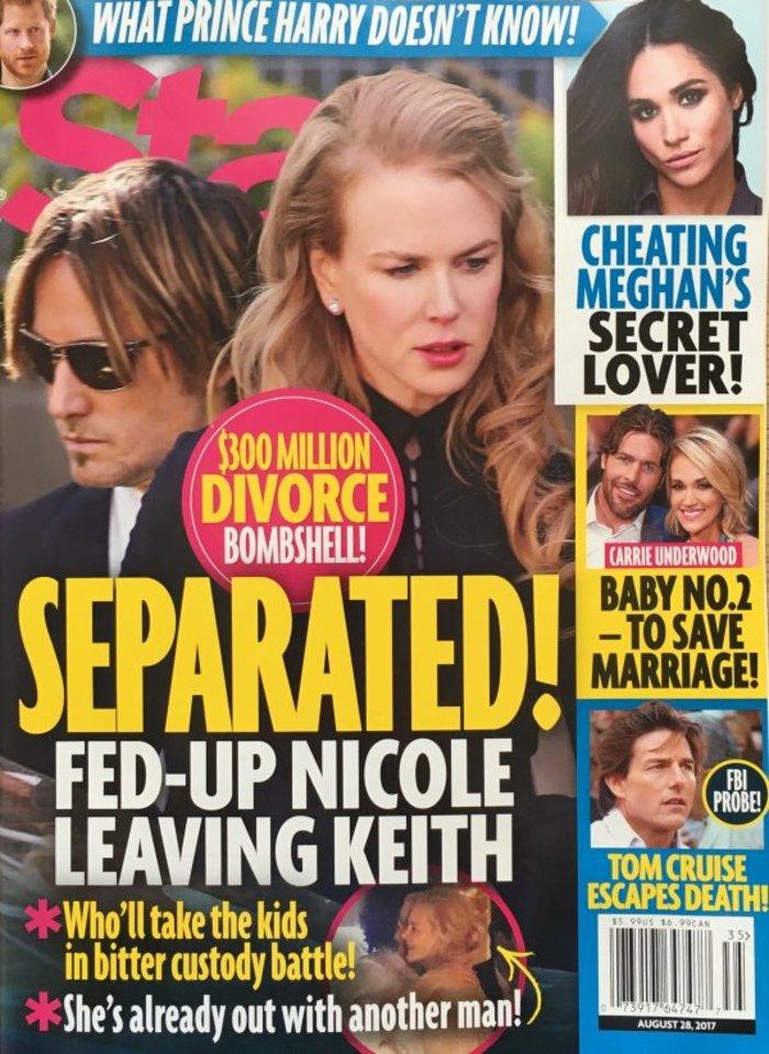 Διαζύγιο 300 εκ. δολαρίων για τη Νικόλ Κίντμαν λόγω απιστίας;