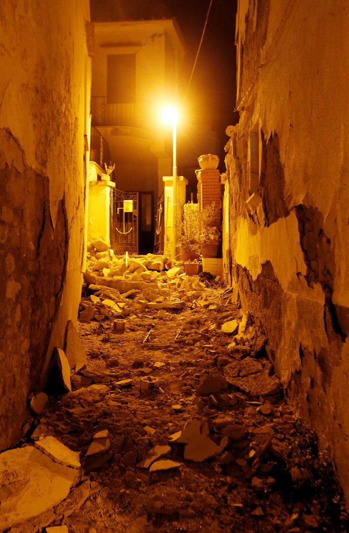 Σεισμός 4 Ρίχτερ στην Ιταλία με 2 νεκρούς και 39 τραυματίες - εικόνα 6