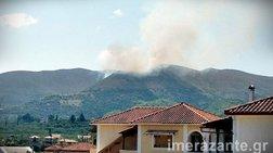 Νέα φωτιά στη Ζάκυνθο, μεγάλο μέτωπο στη Λιθακιά