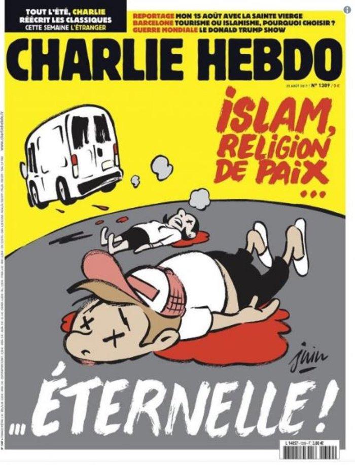 Διχάζει το πρωτοσέλιδο του Charlie Hebdo για το τρομοκρατικό στη Βαρκελώνη