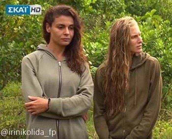 Τα κορίτσια του Survivor στον ήλιο: Κολιδά και Εσκενάζυ παίζουν στην άμμο - εικόνα 2