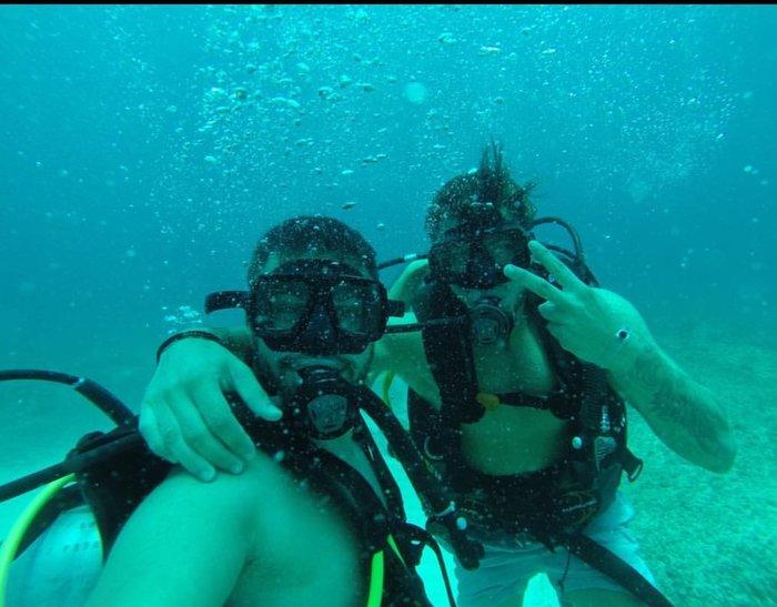 Διακοπές στην Τζαμάικα για τον Πετρετζίκη: Οι απίθανες υποβρύχιες εικόνες - εικόνα 2
