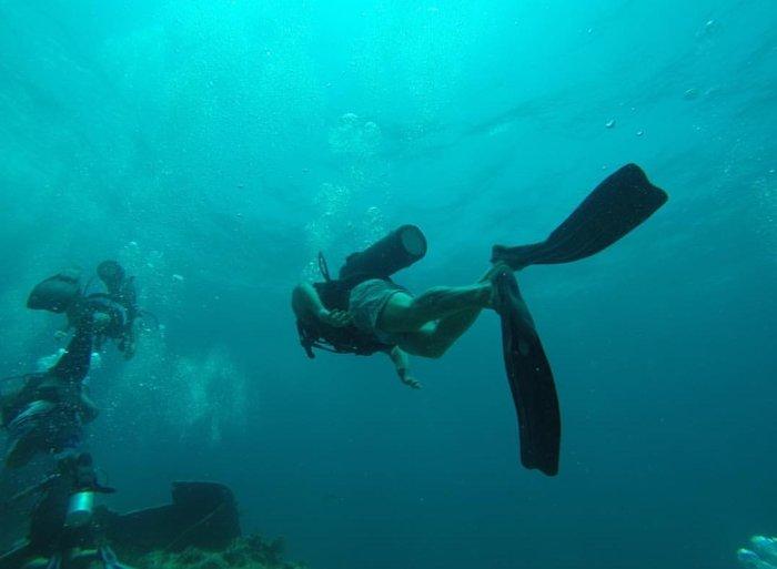 Διακοπές στην Τζαμάικα για τον Πετρετζίκη: Οι απίθανες υποβρύχιες εικόνες - εικόνα 3