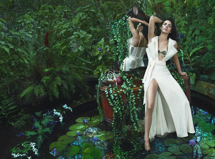 Η Κένταλ Τζένερ στον κήπο της Εδέμ: Η εκπληκτική φωτογράφηση - εικόνα 6