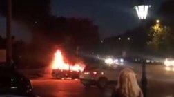 Σύβοτα: Αυτοκίνητο τυλίχθηκε στις φλόγες [βίντεο]