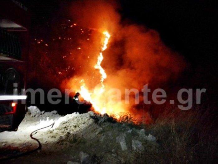 Την ώρα της λιτανείας ξέσπασε νέα φωτιά στη Ζάκυνθο