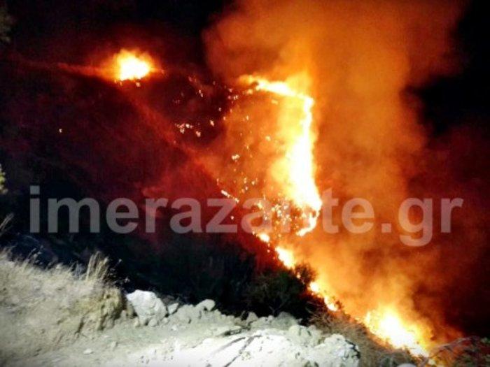 Την ώρα της λιτανείας ξέσπασε νέα φωτιά στη Ζάκυνθο - εικόνα 2