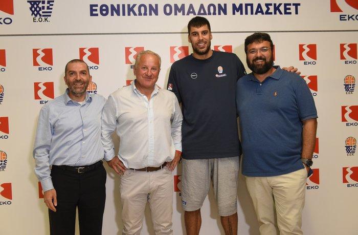 Καλή επιτυχία από την ΕΚΟ στην Εθνική Ομάδα Μπάσκετ για το Eurobasket 2017
