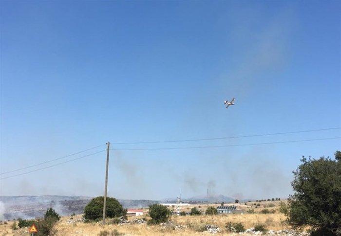 Γιάννενα: Μεγάλη πυρκαγιά κοντά στον οικισμό του Ασβεστοχωρίου