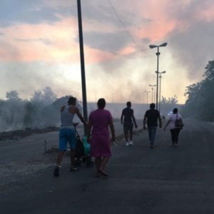 Φωτιές σε όλη την Ιταλία: Στις φλόγες η ιστορική Dux, στο Τζιάνο