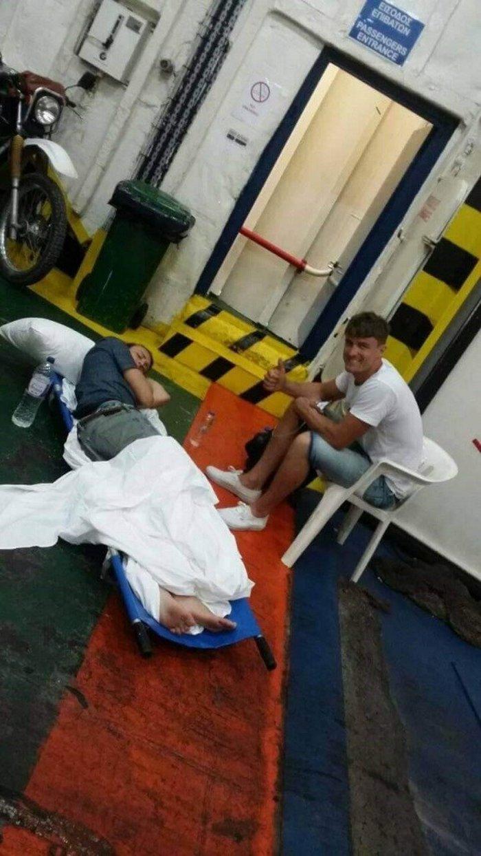 Η ΠΟΕΔΗΝ καταγγέλλει: Έβαλαν τραυματισμένο τουρίστα σε γκαράζ πλοίου