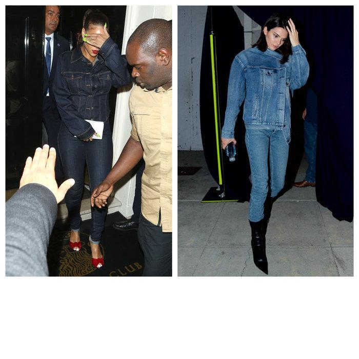 Ριάνα και Κένταλ Τζένερ βγήκαν με το ίδιο ντύσιμο: Ποια ήταν καλύτερη; - εικόνα 3