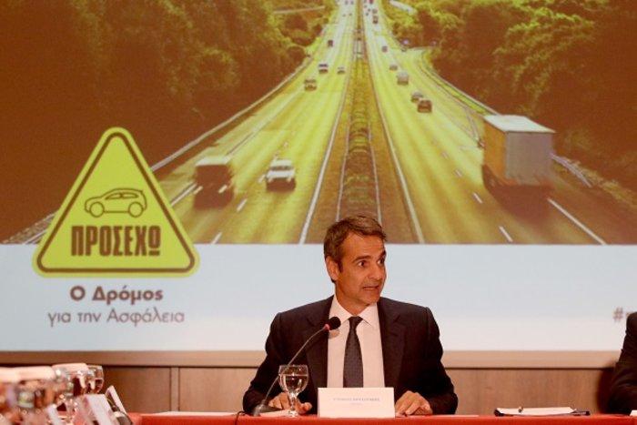 Ο Μητσοτάκης δεσμεύεται για μείωση των τροχαίων στην Κρήτη