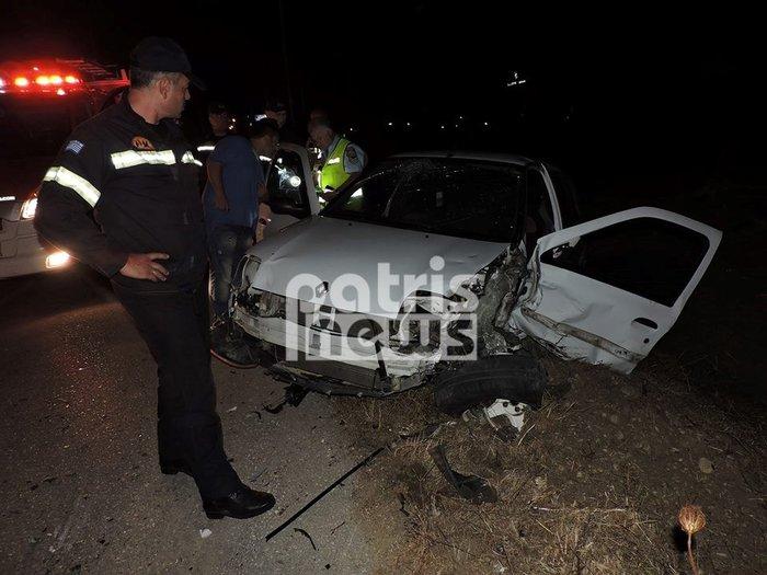 Τρεις τραυματίες σε σοβαρό τροχαίο στην Πύργου - Πατρών (ΦΩΤΟ) - εικόνα 3
