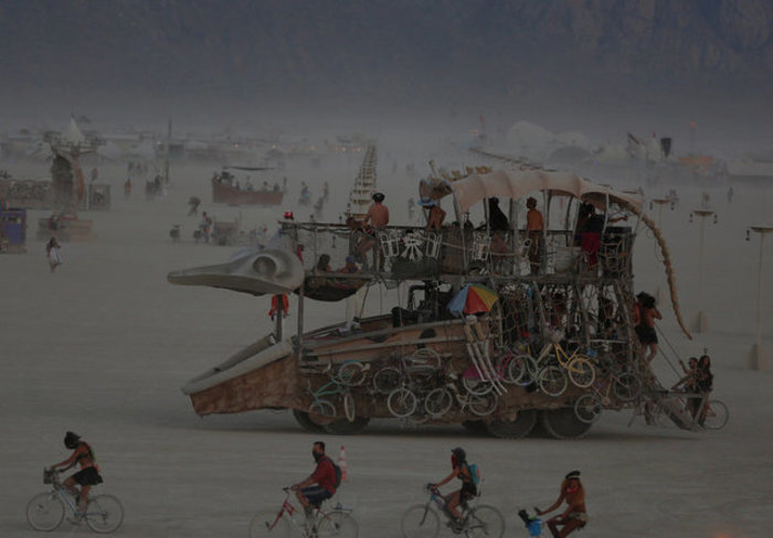 Μαγικό μουσικό φεστιβάλ στην έρημο της Νεβάδα - φωτό -