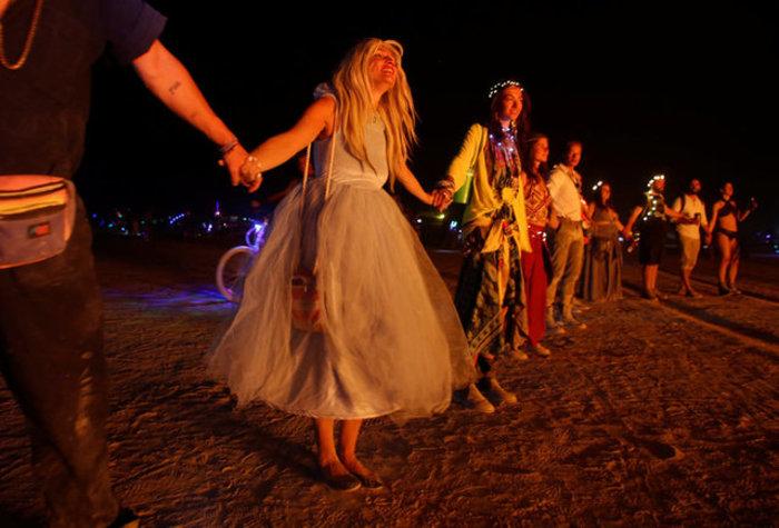 Μαγικό μουσικό φεστιβάλ στην έρημο της Νεβάδα - φωτό - - εικόνα 7