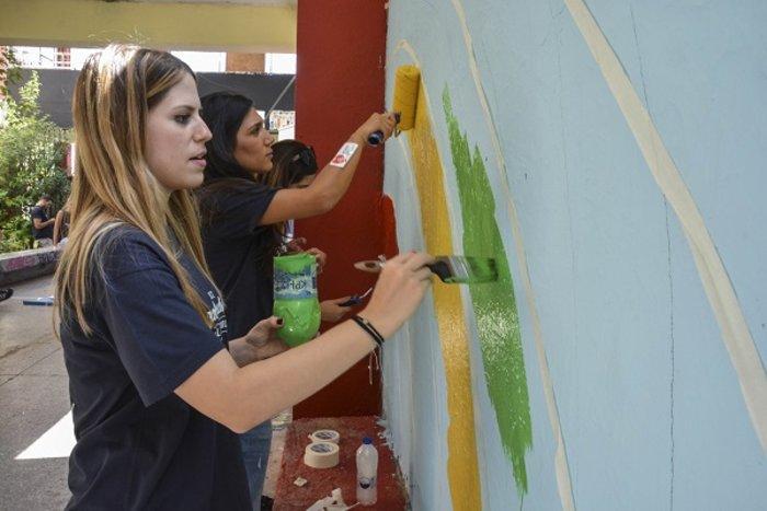 Η εθελοντική δράση υπότροφων του προγράμματος Angelopoulos 100 στην Γκράβα