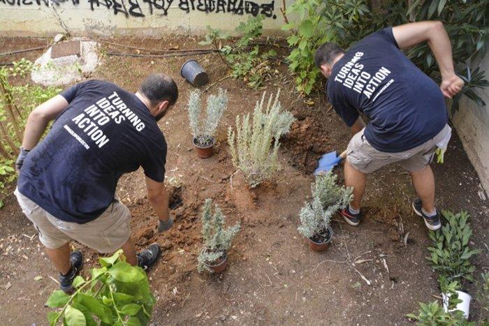 Η εθελοντική δράση υπότροφων του προγράμματος Angelopoulos 100 στην Γκράβα - εικόνα 2