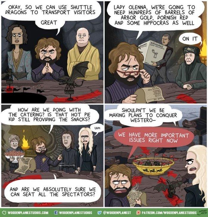 Game of Thrones: Όλη η 7η σεζόν σε κόμικ - Δεν χάνεται! - εικόνα 2