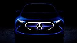 Νέο teaser από την Mercedes για το ηλεκτρικό concept EQ A concept