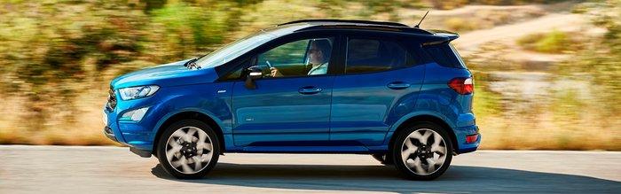 Αποκάλυψη για το ανανεωμένο Ford EcoSport
